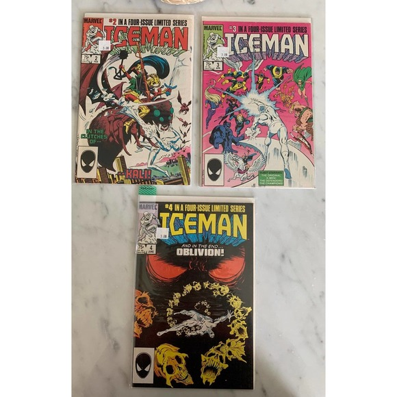 Ice Man Comics
